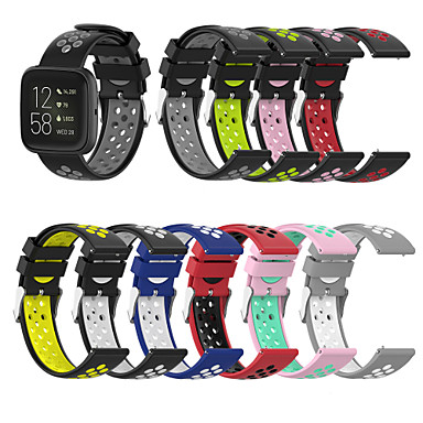 cheap Mobile Phone Accessories-Watch Band for Fitbit Versa / Fitbi Versa Lite / Fitbit Versa Lite Fitbit Sport Band / Classic Buckle Silicone Wrist Strap