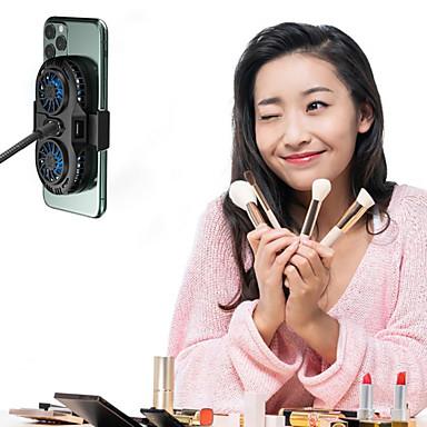billige Ventilator-mobiltelefon radiator spil generelt mobiltelefon radiator bærbar dobbelt blæserbeslag iphone samsung huawei