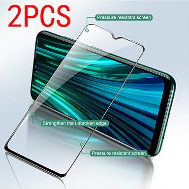 זול אביזרים לטלפונים ניידים-2 יחידות מגן מסך Xiaomi Xiaomi Redmi Note 9 Pro מקס / הערה 8T / הערה 7S / הערה 6 / הערה 5A בחדות גבוהה (HD) מגן מסך קדמי זכוכית מחוסמת דור שני משופר מסך