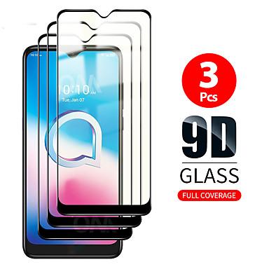 Недорогие Аксессуары для мобильных телефонов-3 шт. 3D полное покрытие для xiaomi redmi note 9 pro max закаленное стекло протектор экрана защитная пленка для xiaomi redmi note 9 pro / note 9s / 9/8 pro / 7s / 7 glass 9h
