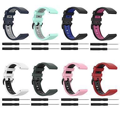 baratos Acessórios Para Celular-pulseira de silicone para garmin fenix 6 / fenix 5 / fenix 5 plus relógio de liberação rápida pulseira de fácil ajuste para / forerunner 945 / forerunner 935 / garmin instinct 22mm