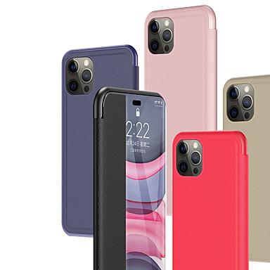 Недорогие Кейсы для iPhone-чехол для apple iphone 12 12 mini 12 pro 12 pro max с подставкой откидные чехлы для всего тела однотонная искусственная кожа se 2020 11 11 pro 11 pro max 8 8 plus 7 7 plus