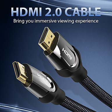 ieftine Audio & Video-vention hdmi cable hdmi switch cable for xiaomi mi tv box ps4 spliiter swicther 4k @ 60hz hdmi to hdmi 2.0 audio cable hdmi cable 15m