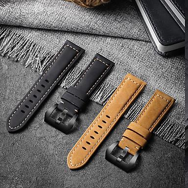 Недорогие Ремешки для часов Huawei-кожаный ремешок для часов для часов huawei gt 2e / gt2 46 мм / gt2 42 мм / gt active / honor magic / magic watch 2 46 мм / magic watch 2 42 мм / часы 2 / часы 2 pro сменный браслет ремешок на запястье