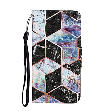 cheap iPhone Cases-Case For iPhone 12 Pro Max Wallet Card Holder with Stand Full Body Cases Marble PU Leather iPhone 12 Mini SE 2020 11 Pro XR XS Max 7 8 Plus