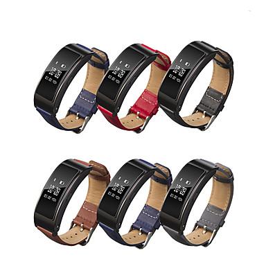 Недорогие Ремешки для часов Huawei-ремешок для часов для huawei band b6 huawei классическая пряжка / деловой ремешок ремешок из натуральной кожи на запястье