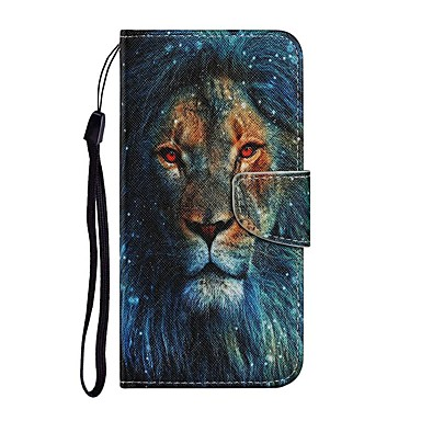 cheap iPhone Cases-Case For iPhone 12 Pro Max Wallet Card Holder with Stand Full Body Cases Animal PU Leather iPhone 12 Mini SE 2020 11 Pro XR XS Max 7 8 Plus