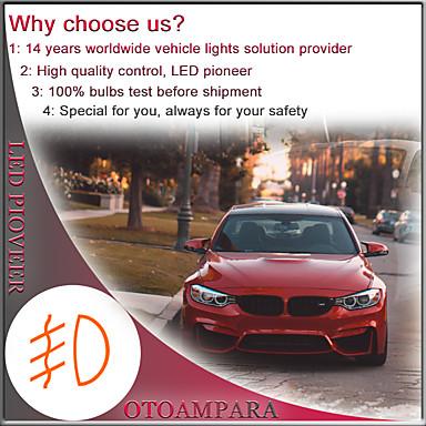 ieftine Lumini de Ceață Mașină-otolampara 2pcs auto led bec h8 special pentru infiniti m37 / g37 / qx60 / volkswagen phaeton / magoten / sagitar / jetta / toyota corolla / hilux / camry 100% aluminiu eliminare căldură ip68