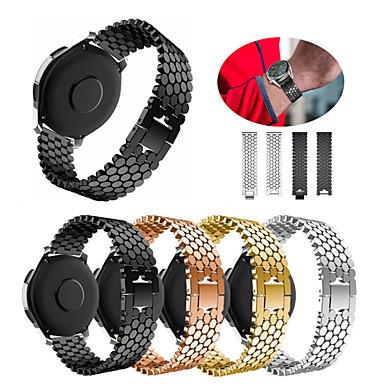 preiswerte Handy-Zubehör-Edelstahlarmband für Huami Amazfit GTR 47mm / Stratos Smartwatch 2 / 2s / Amazfit Pace Armband