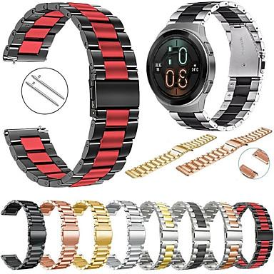 levne Příslušenství pro mobilní telefony-kovový náramek z nerezové oceli pro hodinky huawei gt 2e / gt2 46mm / gt aktivní / magické hodinky 2 46mm / honor magie / hodinky 2 pro vyměnitelný náramek řemínek na zápěstí náramek