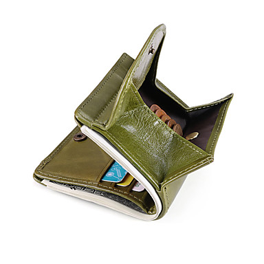povoljno Putne torbe-Putni novčanik Organizator dokumenata Utor za kartice Protiv krađe RFID blokiranje Uporaba Zaštita prava koža Klasika Vintage Poklon Za Muškarci Žene 1*10.5*9.5 cm