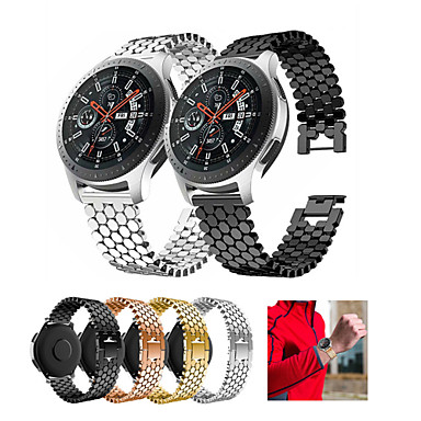 cheap Mobile Phone Accessories-Band For Samsung Galaxy Watch 3 45mm / Gear S3 Watchband Strap Stainless Steel Alloy Wristband For Galaxy Watch 46mm Bracelet