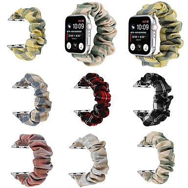 저렴한 애플 시계 밴드-시계 밴드 용 Apple Watch Series 6 / SE / 5/4 44mm / Apple Watch Series 6 / SE / 5/4 40mm / Apple Watch 시리즈 3/2/1 38mm Apple DIY기기 나일론 손목 스트랩