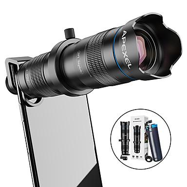 voordelige Mobiele telefoon-accessoires-lens voor mobiele telefoon lensbril met lang brandpunt / aluminiumlegering 10x en hoger 50 mm 5 m 6,8 ° creatief / nieuw ontwerp / cool