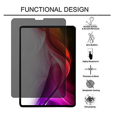 cheap iPad Screen Protectors-iPad Screen Protector iPad Pro (2015/2017) 12.9 / Pro 11 2020 /Pro 12.9 2018 9H Hardness Tablets Screen Protectors 1 Pcs Tempered Glass Anti-Peeping and Anti-spy