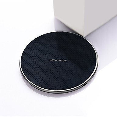 cheap Fast Chargers-10W Wireless Charger for iPhone 11 X Xs Xr 8 10W Qi Fast Wireless Charging Pad for Samsung S10 Note 9 AirPods Xiaomi Charger and Others