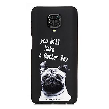 Недорогие Чехлы и чехлы-Кейс для Назначение Xiaomi Xiaomi Pocophone F1 / Xiaomi Redmi 7 / Redmi Note 7 Ультратонкий / Матовое Кейс на заднюю панель С собакой / Слова / выражения ТПУ