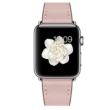 levne Apple Watch řemínky-Watch kapela pro Apple Watch Series 6 / SE / 5/4 44 mm / Apple Watch Series 6 / SE / 5/4 40 mm / Řada Apple Watch 3/2/1 38 mm Apple Kožená smyčka Pravá kůže Poutko na zápěstí