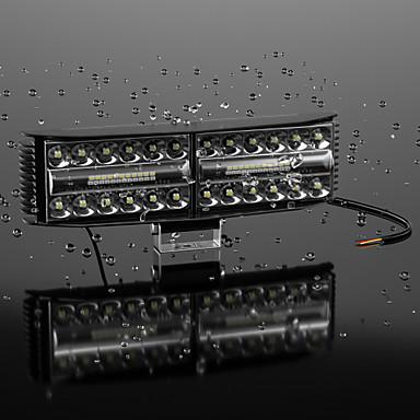 Недорогие Огни для авто-автомобильный бус рабочий свет внедорожник модифицированный автомобильный потолочный светильник светодиодный автомобильный светильник для обслуживания фар 24 светодиода 6500k ip65 6000lm 65w