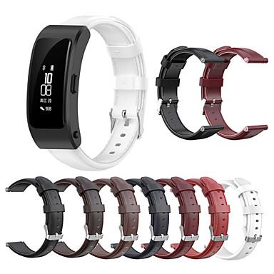 Недорогие Ремешки для часов Huawei-Ремешок для часов для Huawei B3 / Huawei Band B6 Huawei Спортивный ремешок Натуральная кожа Повязка на запястье
