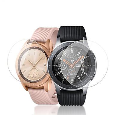 Недорогие Защитные пленки для смарт-часов-Защитная пленка для экрана samsung galaxy watch 42 мм 46 мм закаленное стекло высокой четкости (hd) 3 шт.