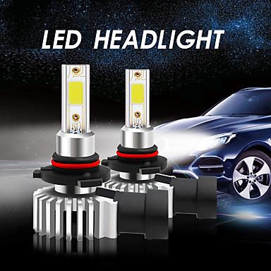 Недорогие Огни для авто-2шт csunnylight h7 h11 9005 светодиодные лампы для фар автомобиля 36w 6600lm авто 12v cob светодиодные фонари