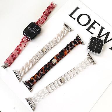Недорогие Ремешки для Apple Watch-Ремешок-цепочка для Apple Watch SE 6 5 4 3 2 1, полный полимерный ремешок для iwatch, браслет-цепочка, современный стиль, инструмент для регулировки