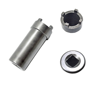 economico Attrezzi di riparazione-motorcycle magneto flywheel starter clutch spanner removal tool nut socket for gy6 scooter