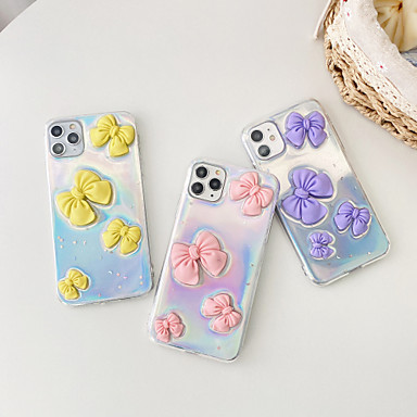 cheap iPhone Cases-Case For Apple iPhone 12 / iPhone 12 Mini / iPhone 12 Pro Max Shockproof Back Cover Butterfly TPU