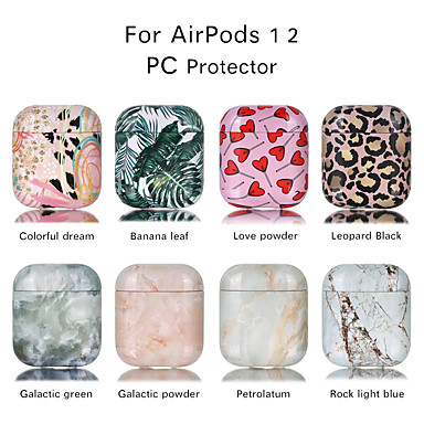 cheap AirPods Cases-Case For AirPods Shockproof / Cool / Color Gradient Headphone Case Hard