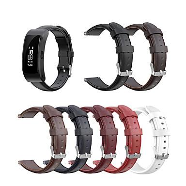 Недорогие Ремешки для часов Huawei-ремешок для часов для huawei b3 / ремешок huawei b6 huawei классическая пряжка / деловой ремешок ремешок из натуральной кожи на запястье