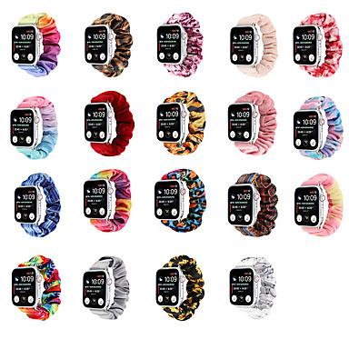 Недорогие Ремешки для Apple Watch-Ремешок для часов для Apple Watch Series 6 / SE / 5/4 44 мм / Apple Watch Series 6 / SE / 5/4 40 мм / Apple Watch Series 3/2/1 38 мм Apple Инструменты сделай-сам Нейлон Повязка на запястье