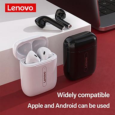 ieftine Căști-căști fără fir bluetooth lenovo x9 v5.0 căști cu control tactil stereo hd vorbind cu baterie de 300 mAh cu cască microfon pentru telefon mobil