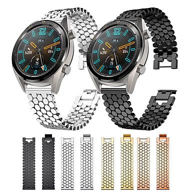 Недорогие Ремешки для часов Huawei-Ремешок для часов для Huawei Watch GT / Watch 2 Pro / магия чести huawei Huawei Бизнес группа Нержавеющая сталь Повязка на запястье
