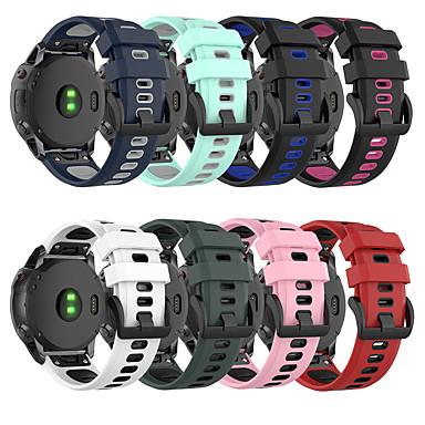 baratos Acessórios Para Celular-pulseira de silicone para garmin fenix 6x / fenix 6x pro relógio de liberação rápida pulseira de fácil ajuste pulseira para fenix 5x / fenix 5x plus / fenix 3 / fenix 3 hr / fenix 3 safira 26mm