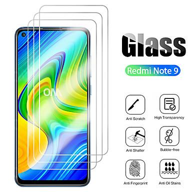 Недорогие Аксессуары для мобильных телефонов-3 шт. Для xiaomi redmi note 9 pro max закаленное стекло защитная пленка для экрана для xiaomi redmi note 9 pro / note 9s / 9/8 pro / 7s / 7 glass 9h