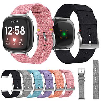 preiswerte Handy-Zubehör-Uhrenarmband für Fitbit Versa 3 / Fitbit Sense Fitbit Sport Band / Klassische Schnalle / Moderne Schnalle Nylon Handschlaufe