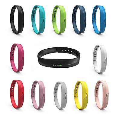levne Příslušenství pro mobilní telefony-měkký silikonový pásek na zápěstí pro fitbit flex 2 náramek na chytré hodinky vyměňte náramek za řemínek na zápěstí fitbit flex2