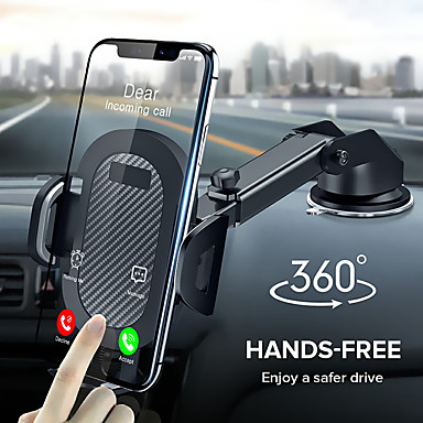 cheap Phone Holder-360 Rotation Suction Cup Phone Car Holder Scalable Glass Desk in Car Mobile Holder Stand large Screen Smartphone GPS Auto Bracket