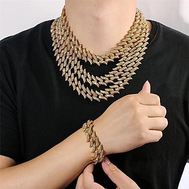 Gehobene Samt Schmuck Set Box Armband Halskette Ohrringe Geschenk Display