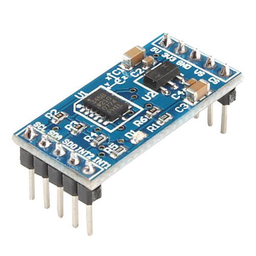 ArduinoLevelIndicator_v1 Arduino Accelerometer