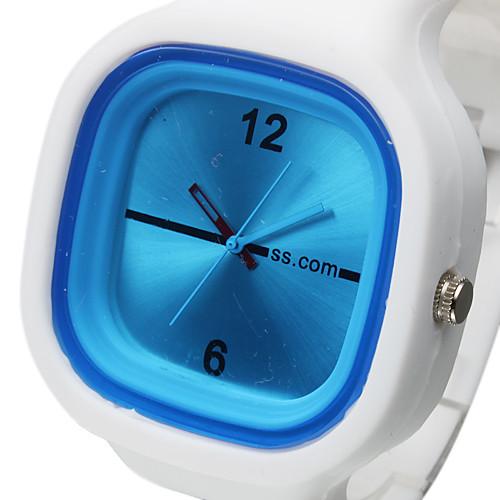 Спортивные белые наручные часы