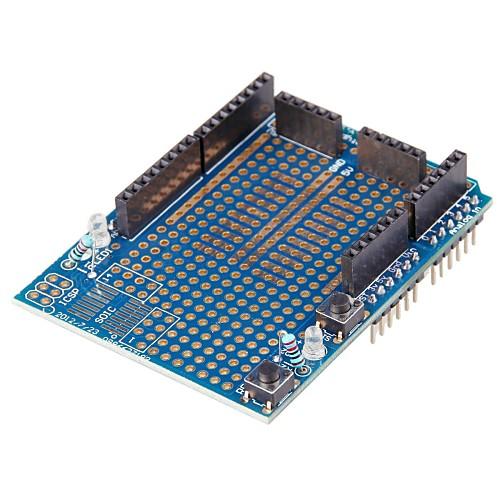 Arduino Prototype Shield with Mini Breadboard