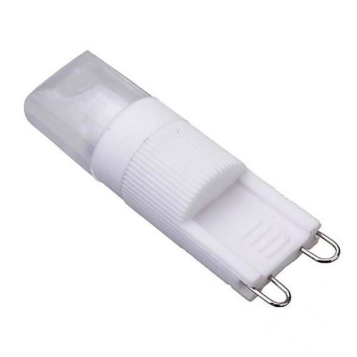 1pc 2 W LED Corn Lights 150-200 lm G9 T 1 LED Beads COB Dimmable Warm White Cold White 220-240 V 110-130 V / 1 pc