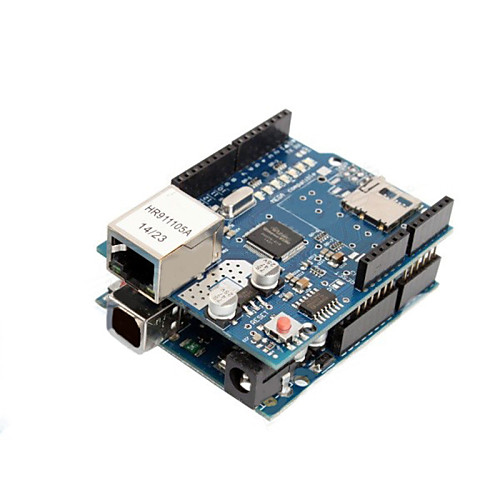 Arduino Ethernet shield R3 with micro SD connector