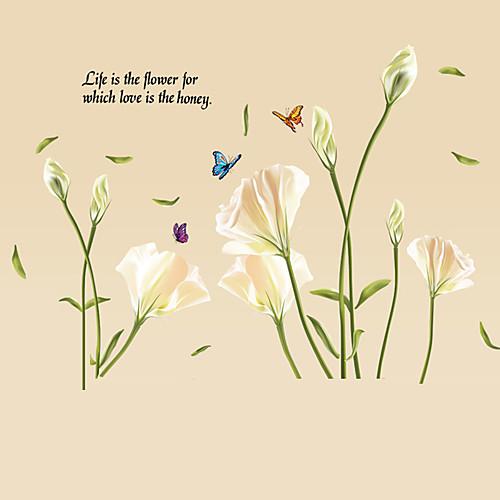 citater om blomster Dekorative Mur Klistermærker   Fly vægklistermærker Sille Liv  citater om blomster