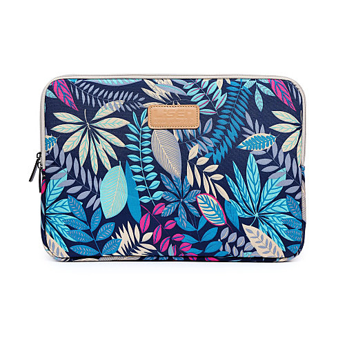 11.6 12 13.3 14 15.6 Forest Leaves Design Shockproof Laptop Sleeve Bag for Macbook/Surface/HP/Dell/Asus/Samsung/Sony etc