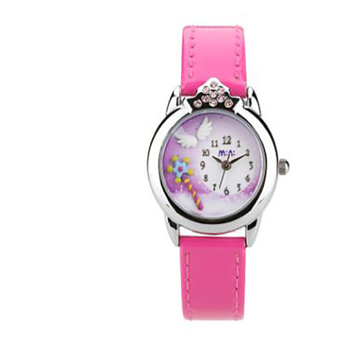 Розовые часы мужские