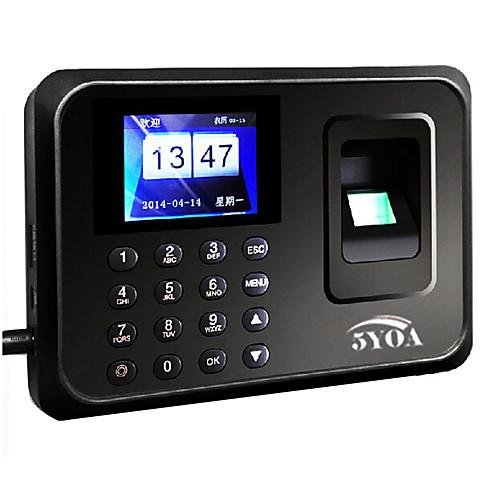 5YOA A01 Посещающая машина отпечаток пальца / пароль Для школы / Гостиница / Офис