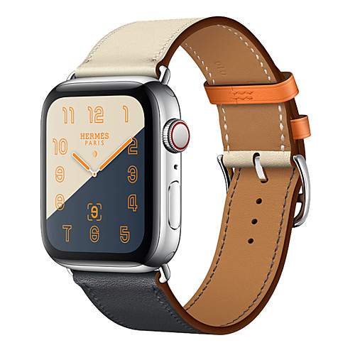 Genuine Leather strap For apple watch band 44mm 40mm 42mm 38mm bracelet wrist belt watchband for iwatch series 4 3 2 1